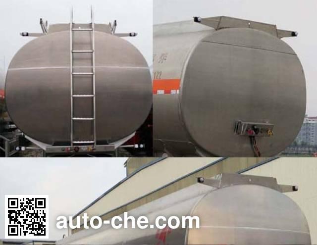 Changhua HCH9406GYYL aluminium oil tank trailer