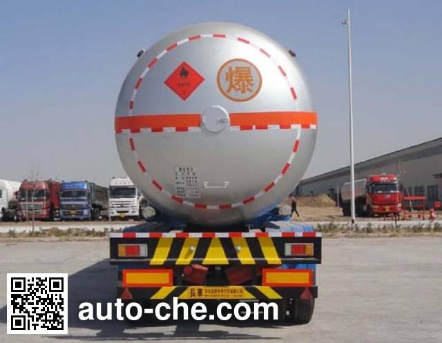 Changhua HCH9270GYQ liquefied gas tank trailer
