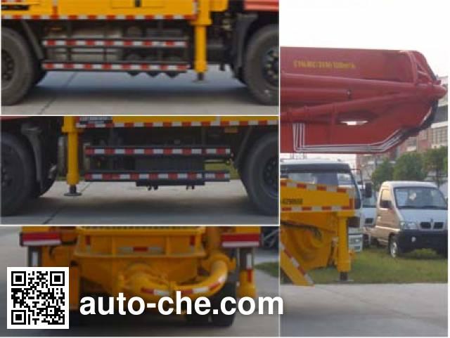 Huatong HCQ5251THBEQ5 concrete pump truck