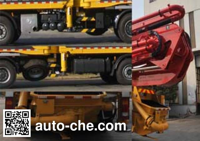 Hold HDL5530THB concrete pump truck