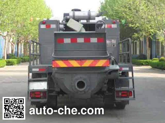 铁力士牌HDT5121THB车载式混凝土泵车