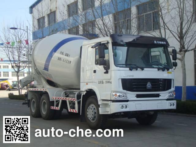 铁力士牌HDT5256GJB混凝土搅拌运输车