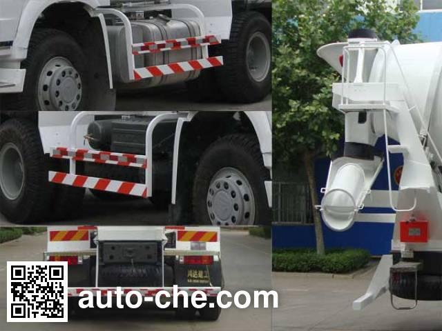 铁力士牌HDT5256GJB2混凝土搅拌运输车