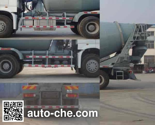 铁力士牌HDT5256GJB3混凝土搅拌运输车