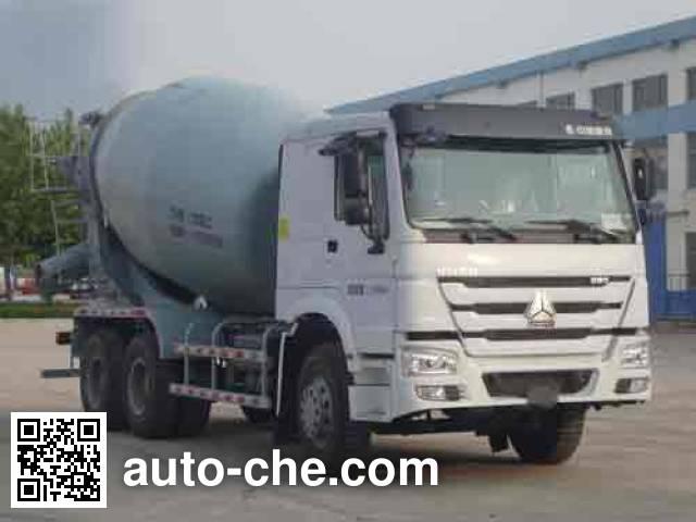铁力士牌HDT5256GJB4混凝土搅拌运输车