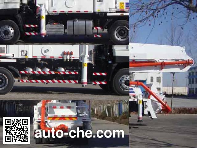 铁力士牌HDT5282THB混凝土泵车