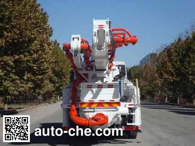铁力士牌HDT5292THB混凝土泵车