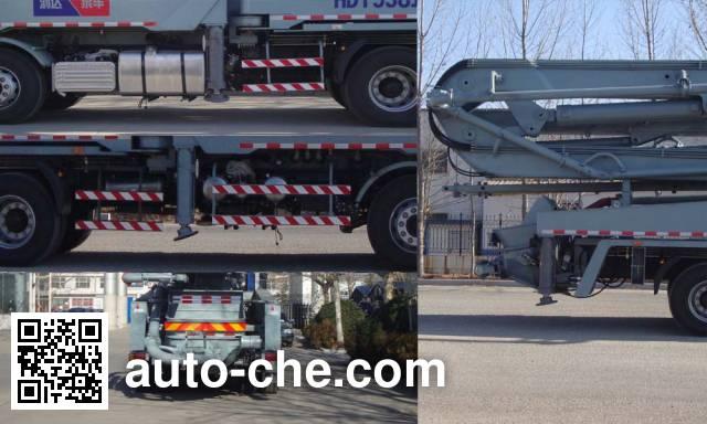 铁力士牌HDT5381THB混凝土泵车