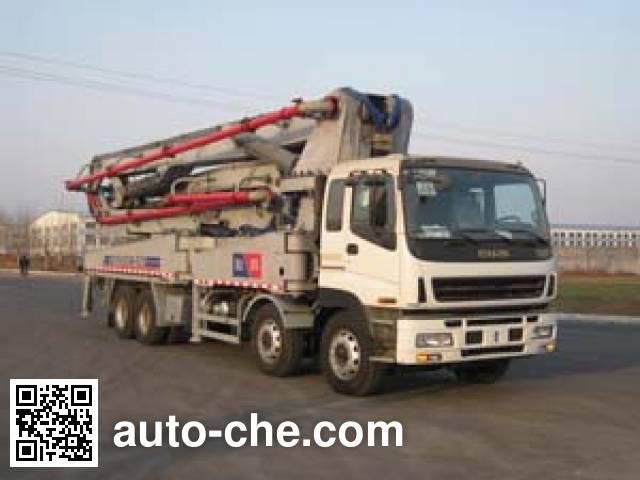 铁力士牌HDT5410THB-52/5混凝土泵车