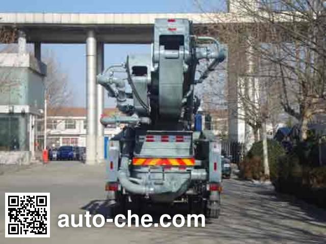 铁力士牌HDT5411THB-52/5混凝土泵车
