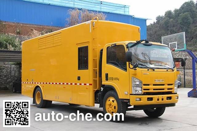 Haidexin HDX5104XDY мобильная электростанция на базе автомобиля