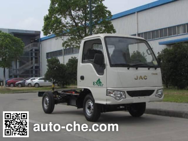 JAC HFC1020PW4EV1B1DZ electric truck chassis