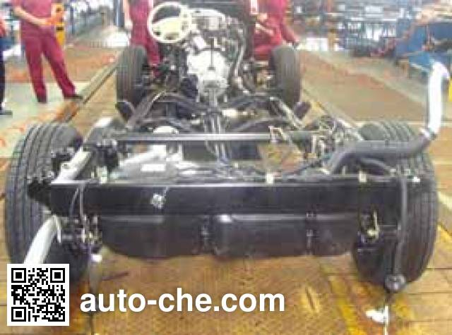 JAC HFC1027K1FA light truck chassis
