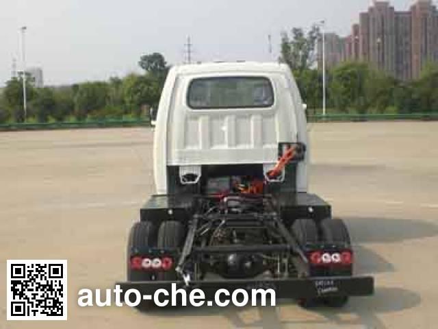 JAC HFC1031PV4EV1B3 electric truck chassis