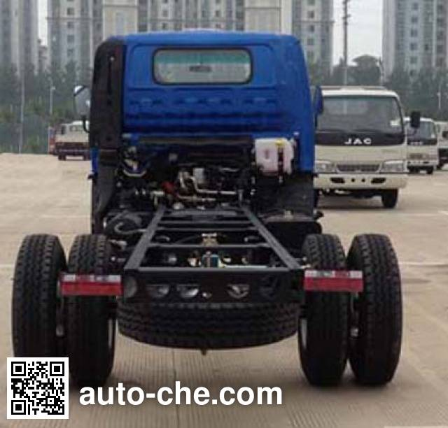 JAC HFC2043P91K1C2 off-road truck chassis