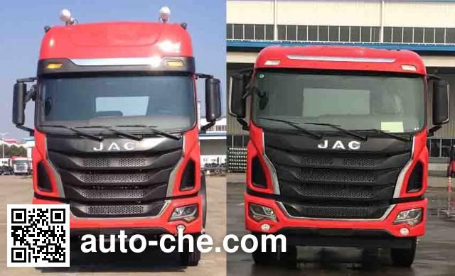 JAC HFC5251XXYP2K3D54S1V box van truck