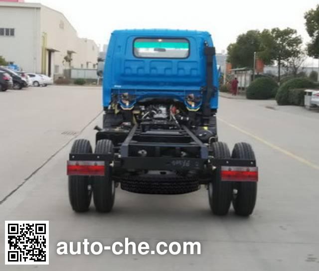 JAC HFC2046KPLZ off-road dump truck chassis