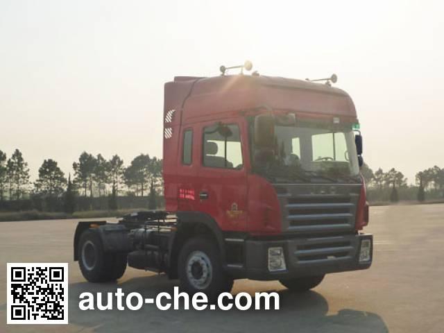 江淮牌HFC4181P1K5A35XF集装箱半挂牵引车
