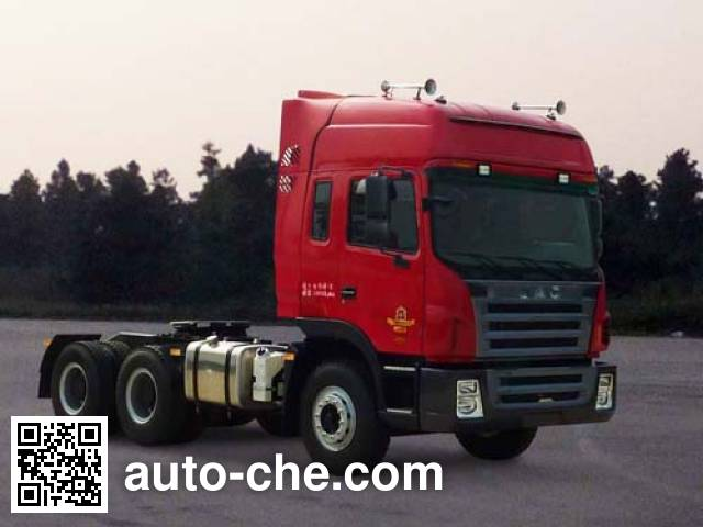 JAC HFC4241P1K6E33XF container transport tractor unit