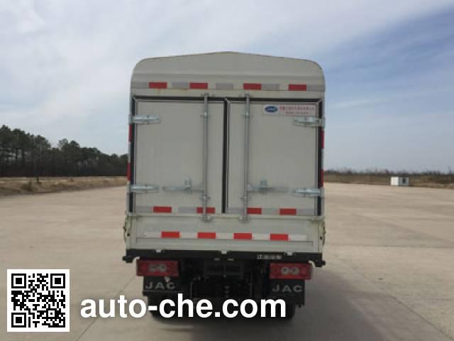 JAC HFC5031CCYPV4EV1B3 electric stake truck