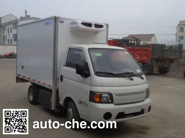 JAC HFC5031XLCPV4EV1B3 electric refrigerated truck