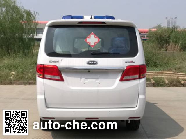 江淮牌HFC5036XJHLA1V救护车
