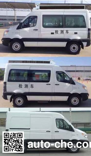 JAC HFC5037XJCEMDV inspection vehicle