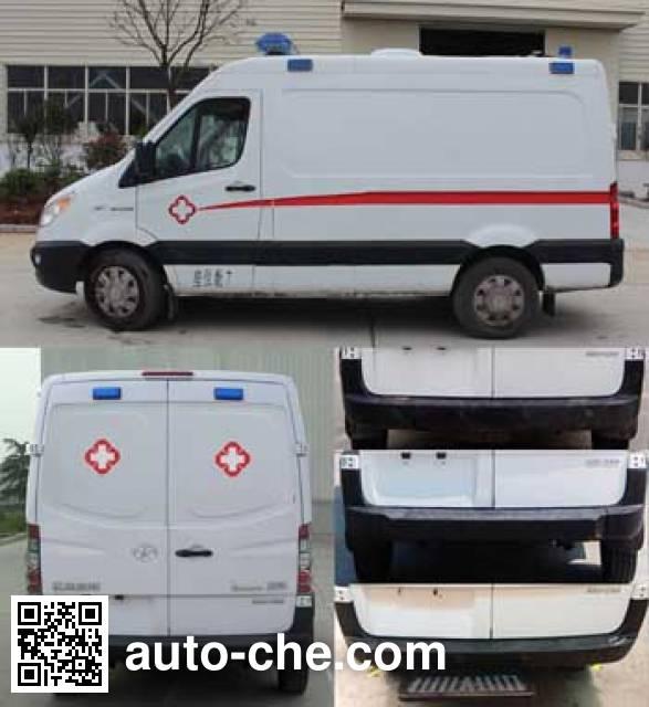 JAC HFC5037XJHEMDV ambulance