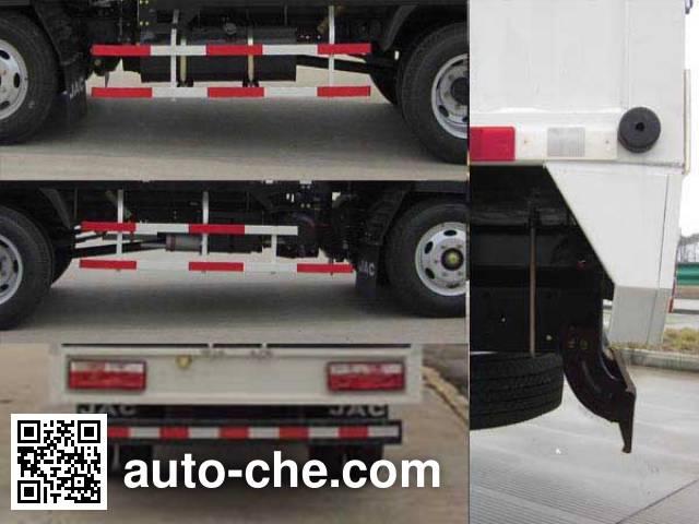JAC HFC5040CPYP73K4B4 soft top box van truck