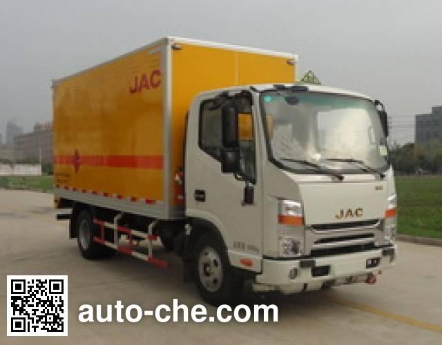 JAC HFC5040XYNKZ fireworks and firecrackers transport truck