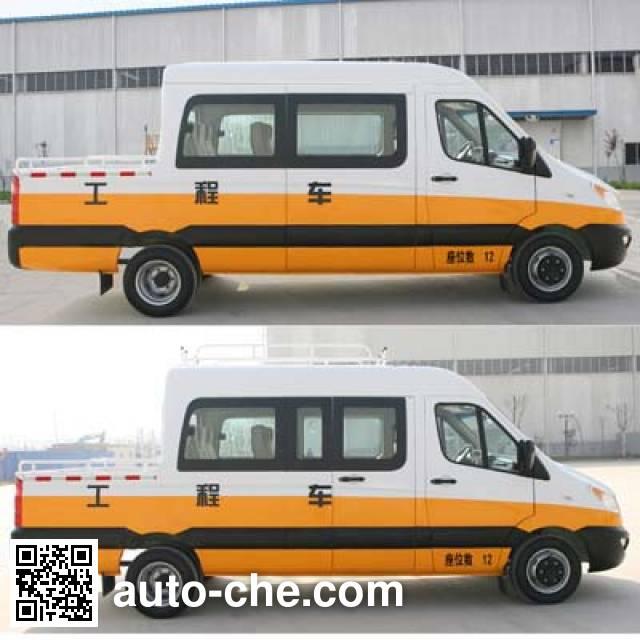 JAC HFC5049XGCKHV engineering works vehicle