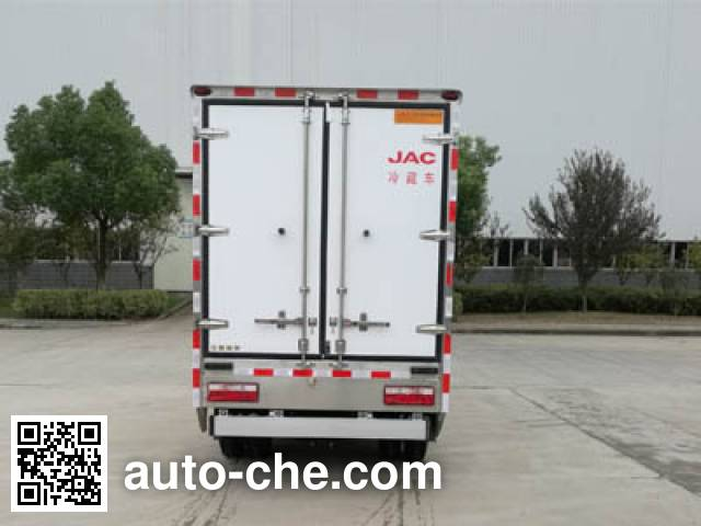 JAC HFC5061XLCP73EV2C5 electric refrigerated truck