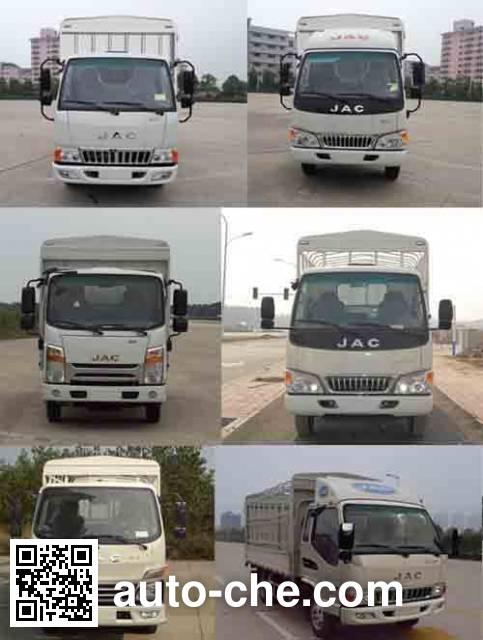 JAC HFC2041CCYP93K1C3V off-road stake truck