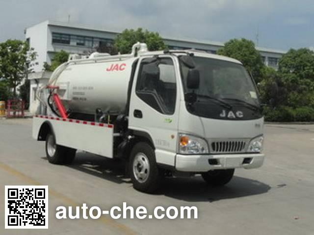 JAC HFC5070GXWVZ sewage suction truck