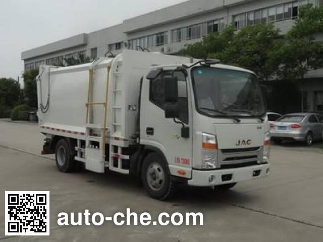 JAC HFC5070ZZZVZ self-loading garbage truck