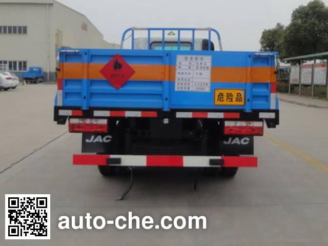 JAC HFC5071TQPZ gas cylinder transport truck