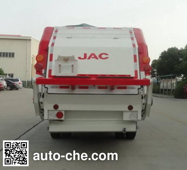 JAC HFC5072ZYSVZ garbage compactor truck
