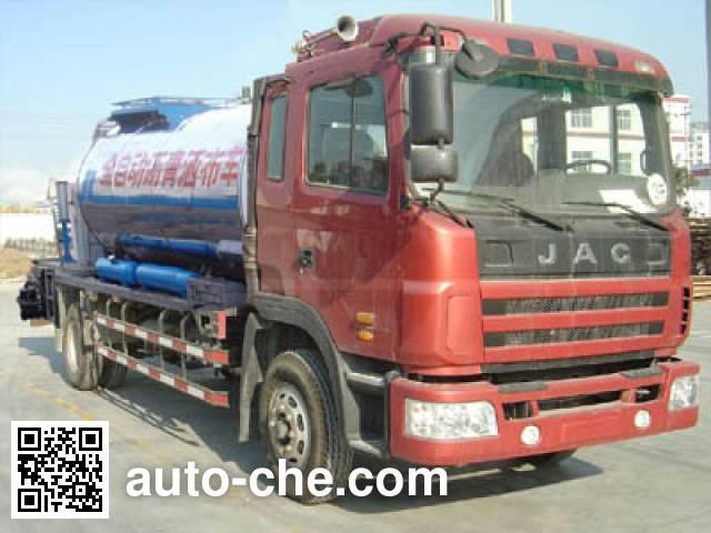 JAC HFC5130GLQKR1 asphalt distributor truck