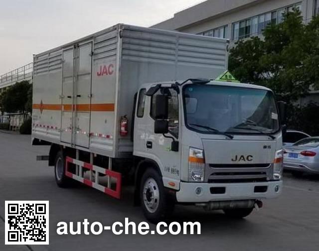 JAC HFC5140TQPXVZ gas cylinder transport truck