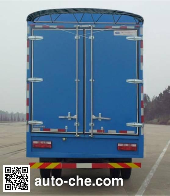 JAC HFC5142CPYP70K1E1 soft top box van truck
