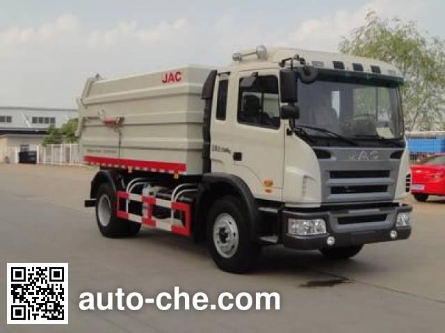 JAC HFC5160ZDJZ docking garbage compactor truck