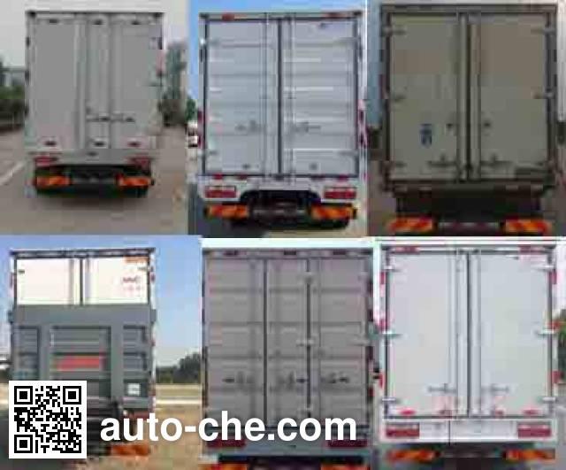 江淮牌HFC5161XLCP70K1D4V冷藏车