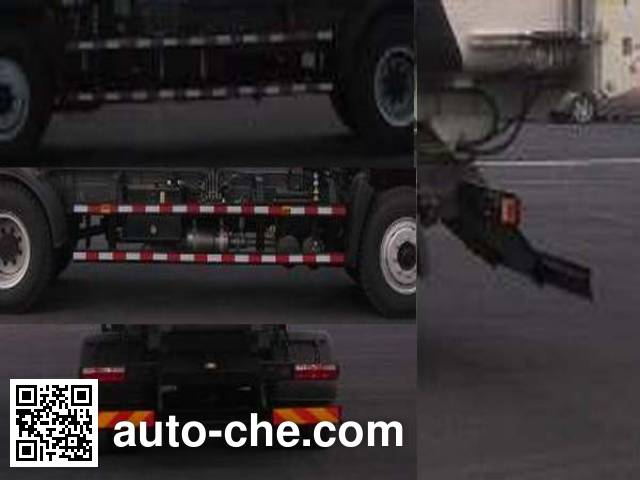 JAC HFC5161ZDZP3K2A45V lifting garbage truck