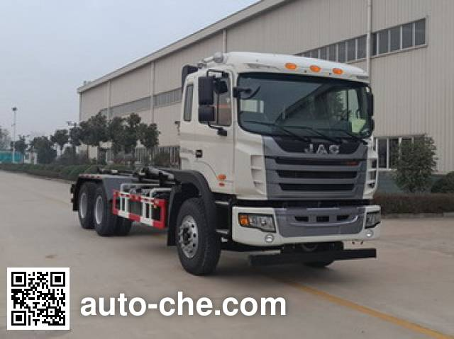 JAC HFC5251ZXXVZ detachable body garbage truck