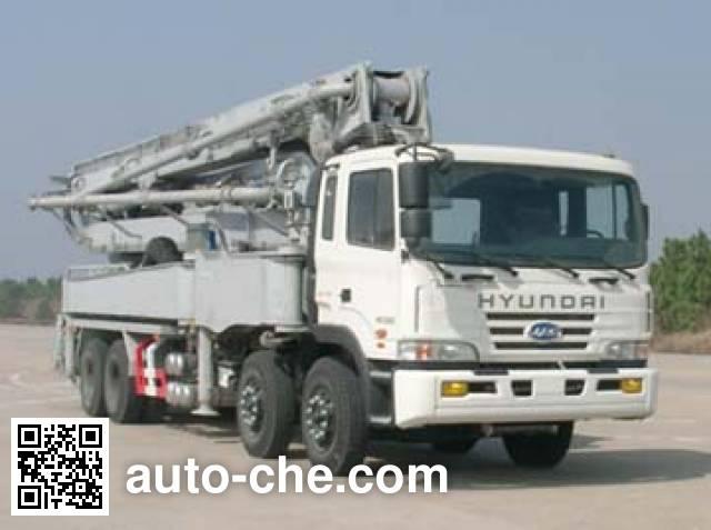 JAC HFC5311THB concrete pump truck