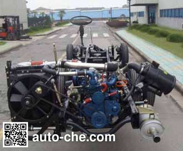 JAC HFC6832KY2V bus chassis