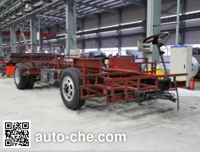 JAC HFC6101EV electric bus chassis