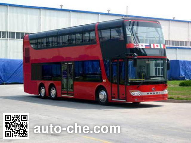 安凯牌HFF6120GS01C双层城市客车