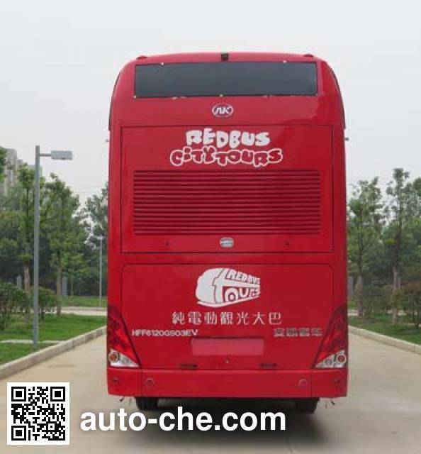 Ankai HFF6120GS03EV electric double decker city bus
