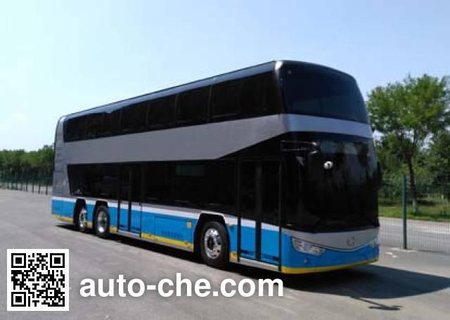 Ankai HFF6123GS03EV electric double decker city bus
